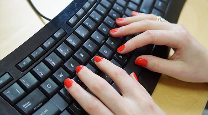 Email keyboard