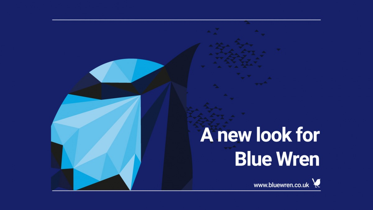 A new look for Blue Wren's website