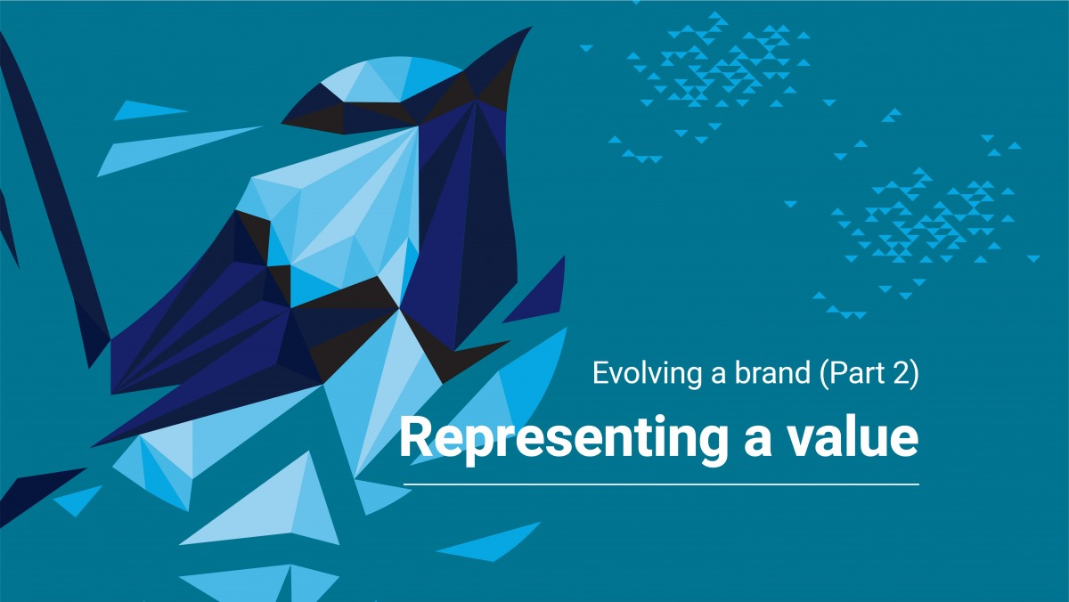 Evolving a brand: Representing a Value