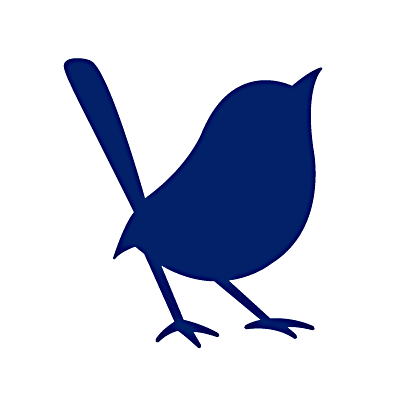The Blue Wren logo