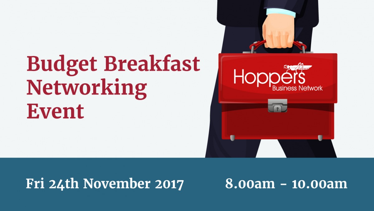Hoppers Business Network - Budget Breakfast Networking Event