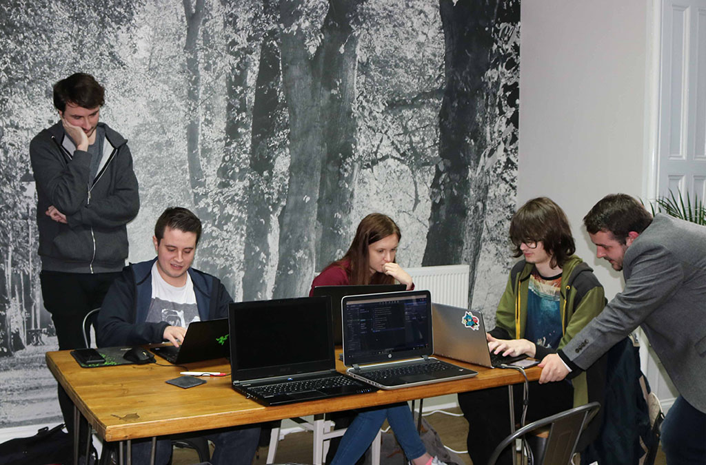 Hackathon at Blue Wren for St. Catherine's Hospice