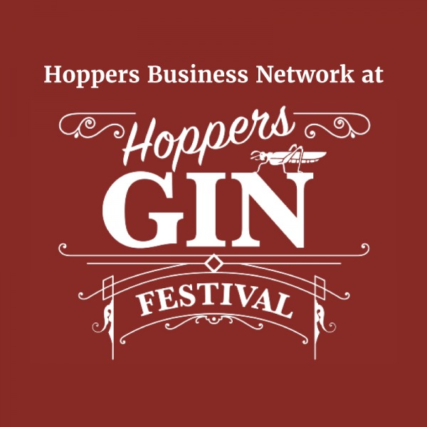 The Hoppers Business Network invite you to attend their networking event at this year's Gin Fest, taking place on December 1st between 1pm and 6pm.