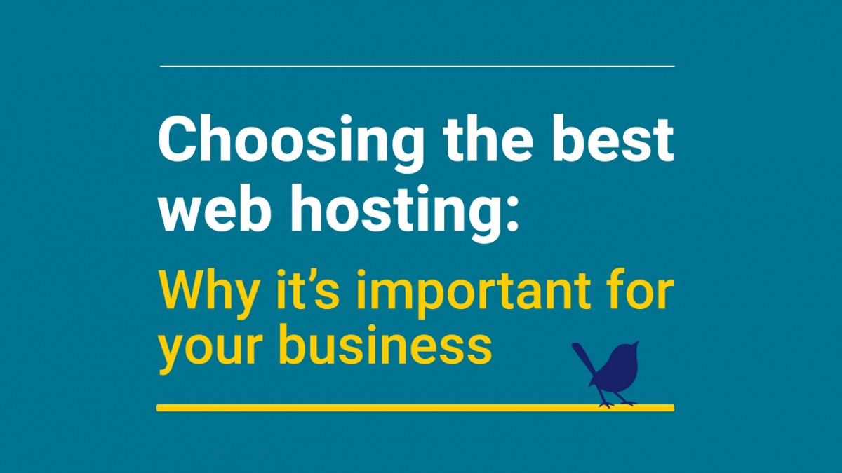 Choosing the best web hosting: Why it's important for your business
