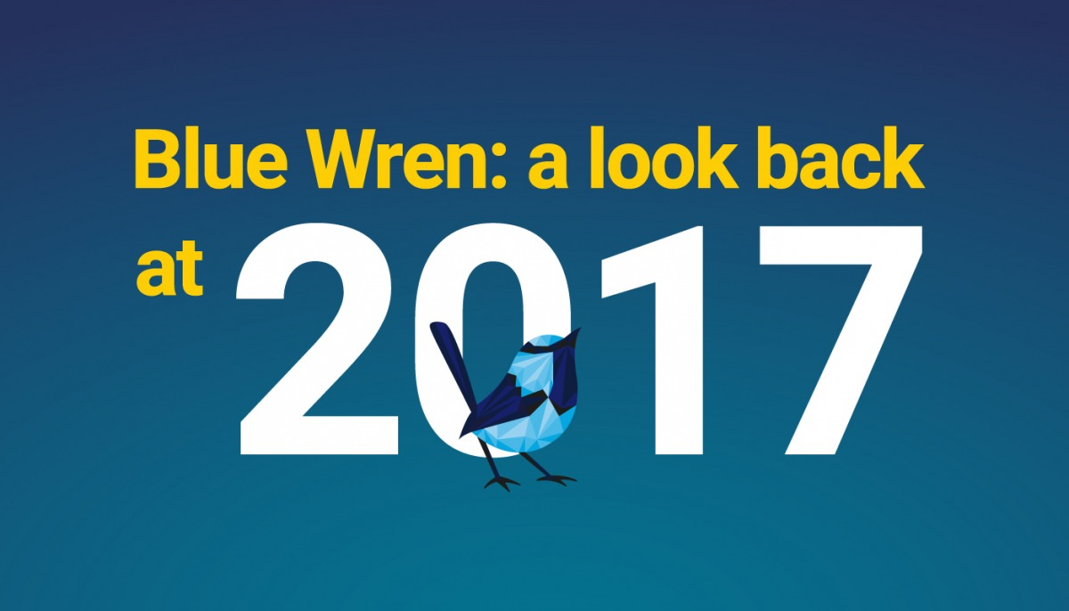 Blue Wren: a look back at 2017