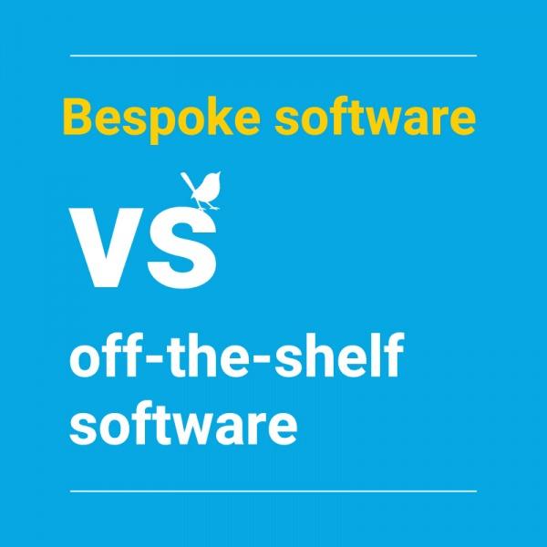 Bespoke software vs off-the-shelf software