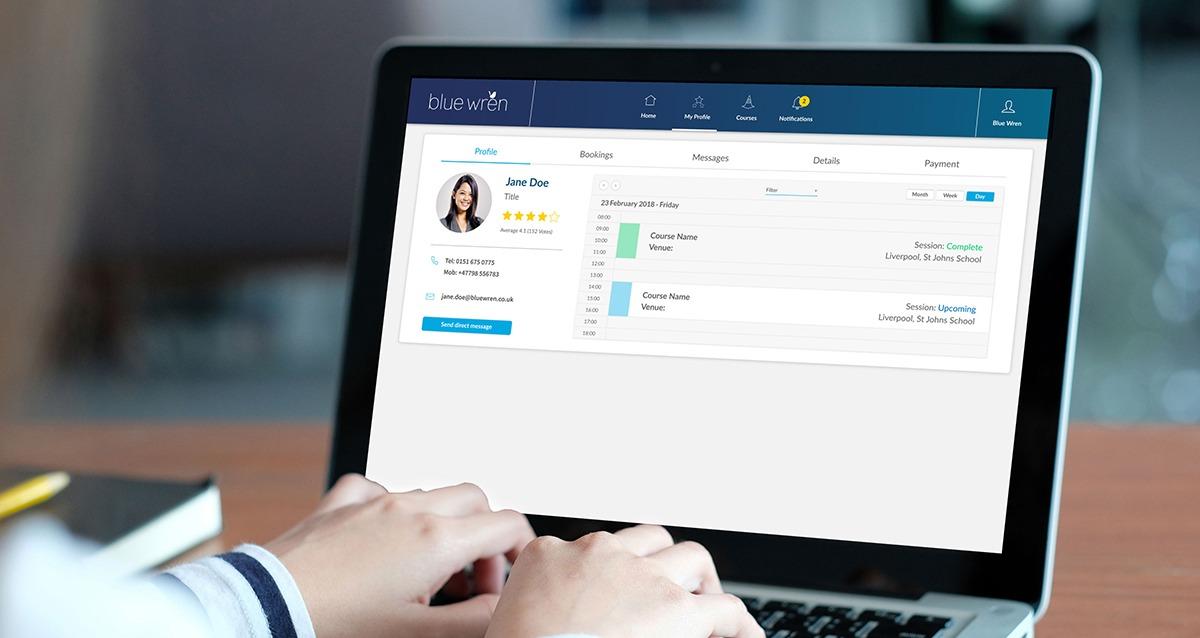 Resource management tool - Blue Wren bespoke software development