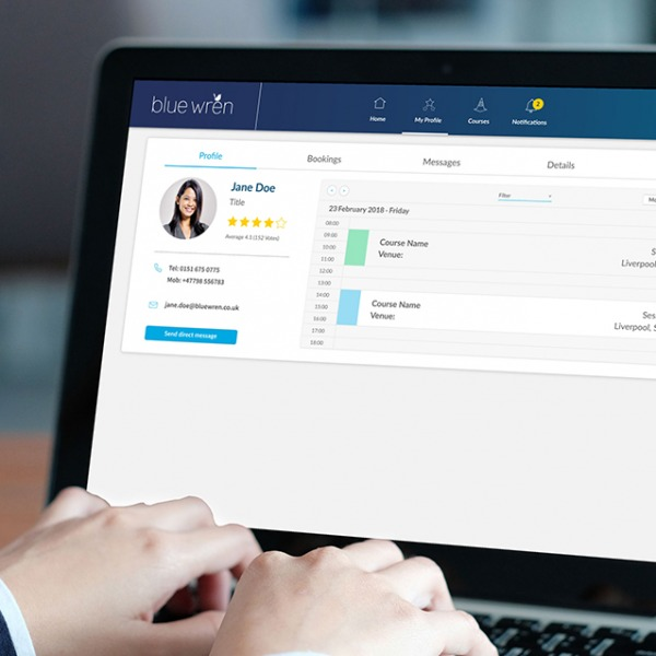 Resource management tool - Blue Wren bespoke software development