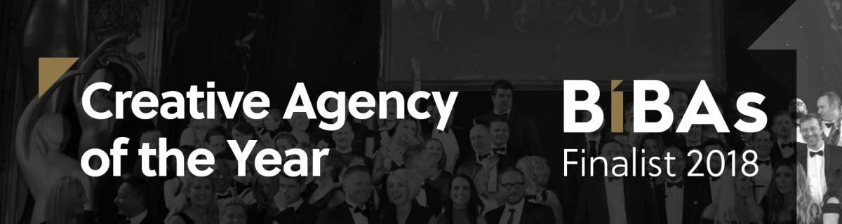 Nominated for Creative Agency of the Year at this year's BIBAs