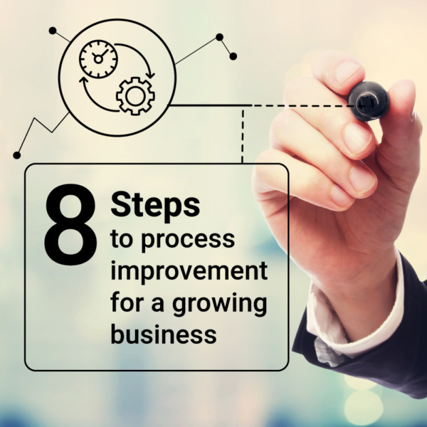 Thumbnail for 8 steps to process improvement for a growing business blog